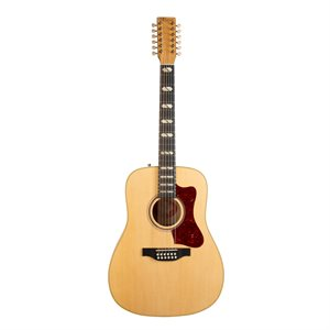 NORMAN B50 12 CORDES NATURAL SG ANTHEM SEMI GLOSS 048540 AVEC ÉTUI TRIC