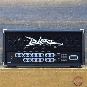DIEZEL AMPLIFICATION PAUL 45-WATT 2.5-CHANNEL GUITAR AMPLIFIER HEAD AVEC PÉDALIER #008/103