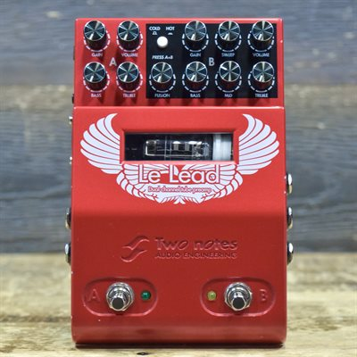 TWO NOTES LE LEAD PREAMP PEDAL DUAL-CHANNEL MIDI TUBE PREAMP EFFECT PEDAL AVEC BOITE #09DF3067