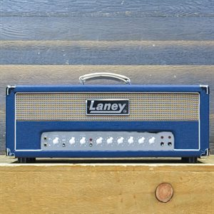 LANEY L50H LIONHEART 50-WATT RMS ALL VALVE GUITAR AMPLIFIER HEAD AVEC PÉDALIER #TGA100511801