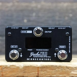 ONE CONTROL GECKO MKIII COMPACT PROGRAMMABLE MIDI SWITCHER WITH 20 PRESETS