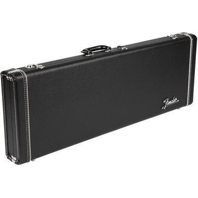 FENDER G&G DLX STRAT/TELE BLACK AMP LOGO ORANGE INTERIOR