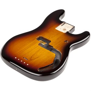 FENDER STANDARD SERIES PRECISION BASS® ALDER BODY BROWN SUNBURST 0998010732