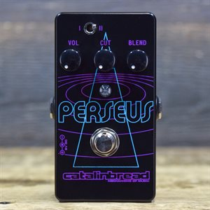 CATALINBREAD PERSEUS SUB-OCTAVE FUZZ ANALOG OCTAVE-DOWN FUZZ EFFECT PEDAL W/BOX #81899
