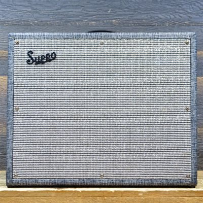 SUPRO S6420 THUNDERBOLT 1964 35-WATT ALL-TUBE 1X15 BASS/GUITAR COMBO AMPLIFIER
