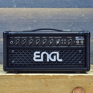 ENGL METALMASTER 20 E309 HEAD 20-WATT ALL-TUBE GUITAR AMPLIFIER HEAD #280216