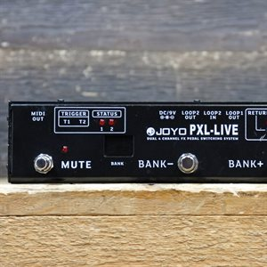 JOYO PXL-LIVE DUAL 4 CHANNEL FX PEDAL SWITCHING SYSTEM W/BOX #34840100043