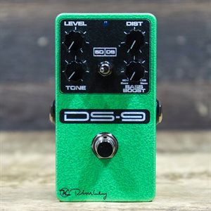 KEELEY ELECTRONICS DS-9 DISTORTION SD/DS DUAL DISTORTION EFFECT PEDAL #00676