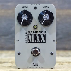 J. ROCKETT AUDIO DESIGNS MAX MARK SAMPSON BUFFER/BOOSTER W/BOX