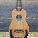 KALA KA-SSTU-S ULTRA-THIN TRAVEL LINE SOLID SPRUCE TOP SOPRANO UKULELE W/BAG #171