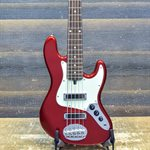 LAKLAND SKYLINE J SONIC 5-STRING CHI-SONIC JAZZ PICKUPS CANDY APPLE RED #181004675