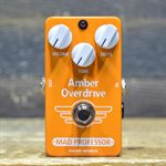 MAD PROFESSOR AMBER OVERDRIVE HAND WIRED FAT AND SMOOTH OVERDRIVE
