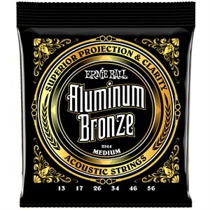 ERNIE BALL 2564 MEDIUM ALUMINUM BRONZE - 13-56