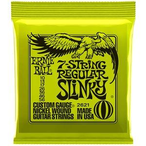 ERNIE BALL 2621 REGULAR SLINKY 7-STRING NICKEL WOUND - 10-56