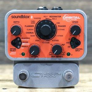SOURCE AUDIO SOUNDBLOX 2 ORBITAL MODULATOR COMPACT MULTI-EFFECTS PEDAL W/BOX #181800850