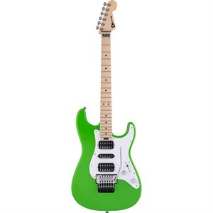 CHARVEL PRO-MOD SO-CAL STYLE 1 HSH FR M, MAPLE FINGERBOARD, SLIME GREEN 2966034525