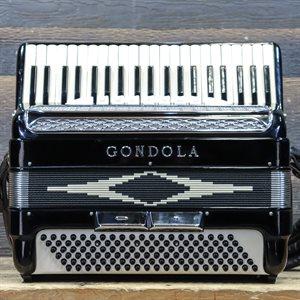 GONDOLA 10/137 MODEL 120-BASS 41-KEY 7-TREBLE SWITCH BLACK W/BAG