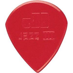DUNLOP JAZZ III 47R3N RED 1.38MM PAQ DE 24