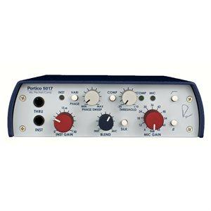 RUPERT NEVE DESIGN PORTICO 5017 MOBILE PRE/DI/COMPRESSOR W/VARI-PHASE