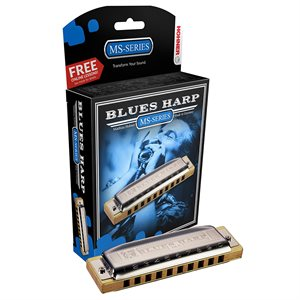 HOHNER BLUES HARP 532BX-D DIATONIQUE, CLÉ DE D