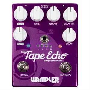 WAMPLER PEDALS FAUX TAPE ECHO DELAY