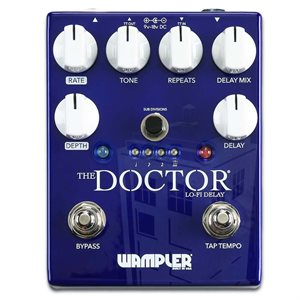 WAMPLER PEDALS THE DOCTOR LO-FI AMBIENT DELAY