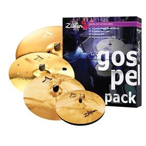 ZILDJIAN AC0801G A CUSTOM GOSPEL MUSIC PACK 14-17-18-21