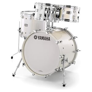 YAMAHA AM2F40-PWH ABSOLUTE HYBRID 4-PIECE POLAR WHITE (2218BD, 1007T, 1208T, 1615FT)