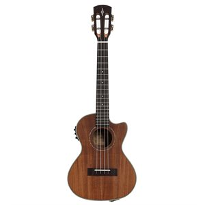ALVAREZ AU90TCE TENOR ELECTRIC ACOUSTIC UKULELE W/CUTAWAY, NATURAL SATIN FINISH