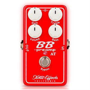 XOTIC BB PREAMP ANDY TIMMONS ÉDITION LIMITÉE