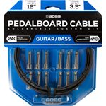 BOSS BCK-12 SOLDERLESS PEDALBOARD CABLE KIT 12FT - 12 CONNECTORS