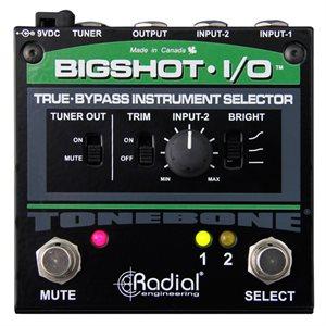RADIAL ENGINEERING TONEBONE BIGSHOT I/O INSTRUMENT SWITCHER R800 7212 00