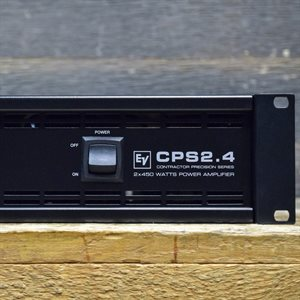 ELECTRO-VOICE CPS2.4 MKII CONTRACTOR PRECISION SERIES CLASS-AB POWER AMPLIFIER