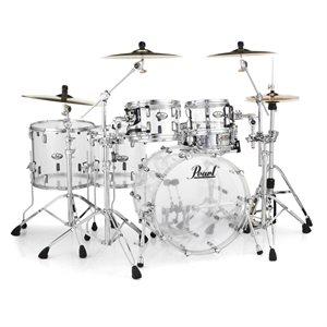PEARL CRB525FPC730 CRYSTAL BEAT 5-PIECE ULTRA CLEAR (2216BD, 1007T, 1208T, 1413FT, 1615FT)