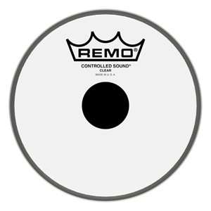 REMO BLACK DOT CLEAR 6 CS-0306-10