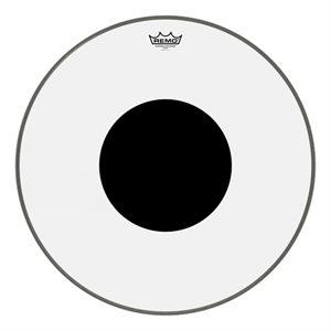 REMO BLACK DOT CLEAR BASSDRUM 22 CS-1322-10