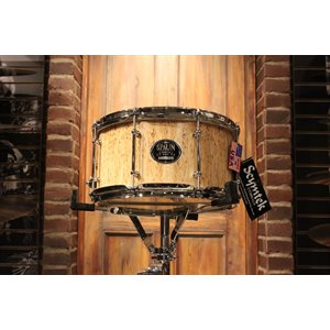SPAUN DESIGNER 7X13 BIRCH BRIAR FACE SNARE DRUM – FLOOR DEMO