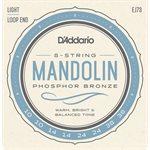 D'ADDARIO EJ73 MANDOLIN, PHOSPHOR BRONZE, LIGHT, 10-38