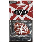 DUNLOP EVHP07 EDDIE VAN HALEN GUITAR PICKS 5150 MAX GRIP, .60MM (6-PACK)