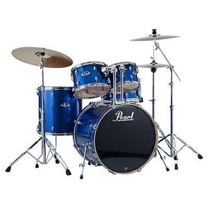 PEARL EXX705PC702 EXPORT EXX 5-PIECE BLUE SPARKLE W/HWP830 HARDWARE PACK (2018BD, 1007T, 1208T, 1414FT, 1455SD)