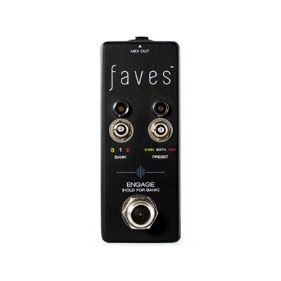 CHASE BLISS AUDIO FAVES PRESETS CONTROLLER