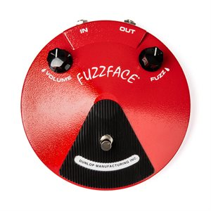 DUNLOP JDF2 ORIGINAL FUZZ FACE RED