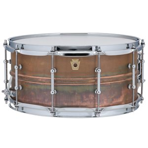 LUDWIG COPPER PHONIC 6.5X14 NAT PATINA WITH/TL