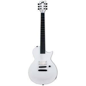 ESP LTD EC ARCTIC METAL SNOW WHITE SATIN