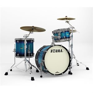 TAMA MA30CMUS-MEB STARCLASSIC MAPLE 3 MORCEAUX MOLTEN ELECTRIC BLUE BURST SMOKED BLACK NICKEL HARDWARE (2014BD, 1208T, 1414FT)