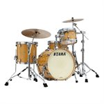 TAMA ME30CMBS-VGLM STARCLASSIC MAPLE 3 MORCEAUX EXOTIC GLOSS NATURAL MOVINGUI BLACK NICKEL HARDWARE (2014BD, 1208T, 1414FT)