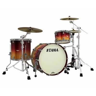 TAMA ME32CZUS-VVLM STARCLASSIC MAPLE 3 MORCEAUX EXOTIC VIOLET FADE MOVINGUI SMOKED BLACK NICKEL HARDWARE (2214BD, 1208T, 1616FT)