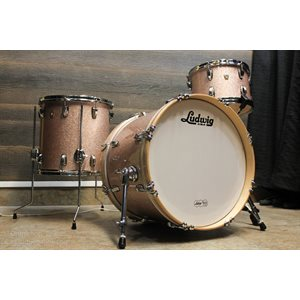 LUDWIG CLASSIC MAPLE SERIES 3 MORCEAUX CHAMPAGNE SPARKLE (2014BD, 1208T, 1414FT)