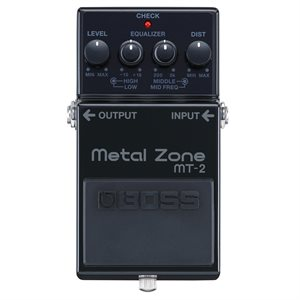 BOSS MT-2-3A LIMITED EDITION 30TH ANNIVERSARY METAL ZONE