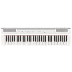 YAMAHA P121WH COMPACT 73 NOTE PORTABLE DIGITAL PIANO, WHITE